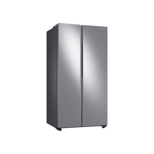 Gallery - 23 cu. ft. Smart Counter Depth Side-by-Side Refrigerator in Stainless Steel