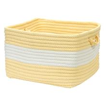 """Rope Walk Basket CB90 Yellow 14"""" X 10"""""""