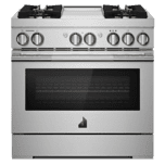 Jenn-AirJenn-Air RISE 36&quot Dual-Fuel Professional Range with Chrome-Infused Griddle