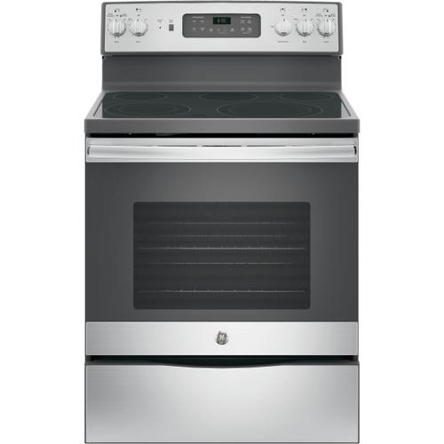 """GE Appliances - GE® 30"""" Free-Standing Electric Convection Range-Self Clean"""