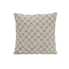 6815312 - Pillow 50x50 cm KADRIYE black-white cross print