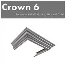 View Product - ZLINE Crown Molding #6 For Designer Wall Range Hood (CM6-KB-S304)