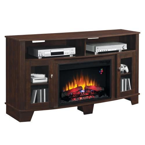 La Salle TV Stand with Electric Fireplace - CURRENTLY SOLD OUT