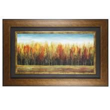 Textured Framed Print - Deep Forest