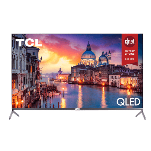 """TCL 55"""" Class 6-Series 4K QLED Dolby Vision HDR Roku Smart TV - 55R625"""