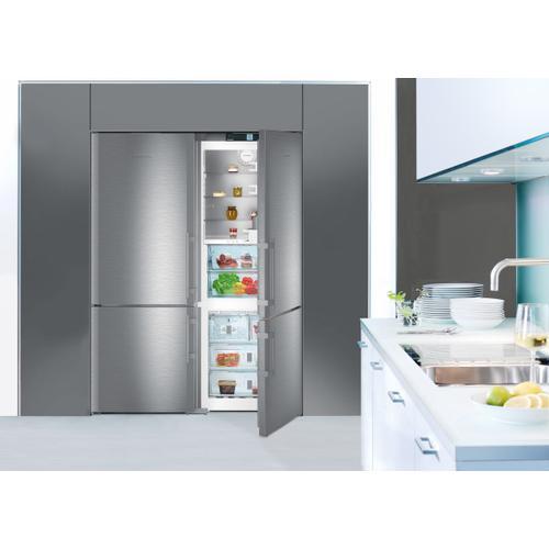 Liebherr - Fridge-freezer with BioFresh and NoFrost Fridge-freezer with BioFresh and NoFrost