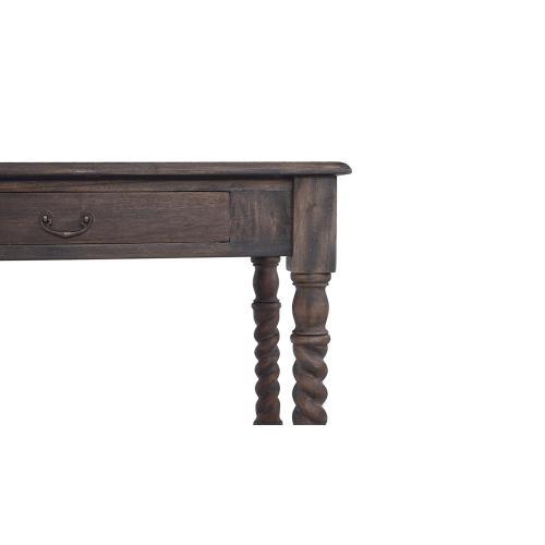 Console Desk w/ Barley Twist Leg
