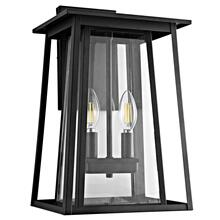 Velza Outdoor Wall Lantern - Black