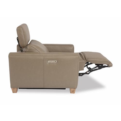 Flexsteel - Astra Power Recliner with Power Headrest
