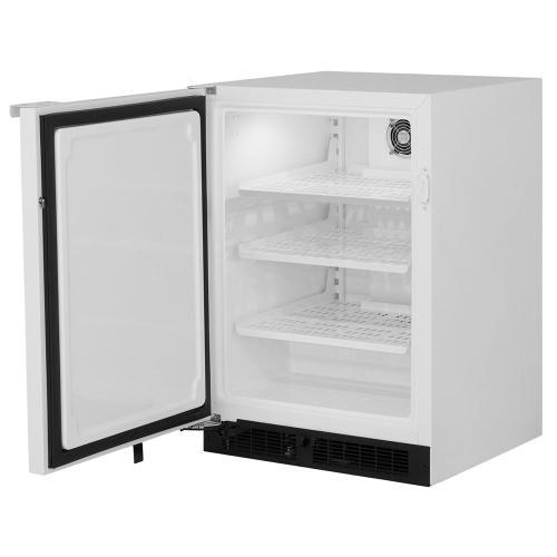24-In General Purpose Automatic Defrost Freezer with Door Swing - Left