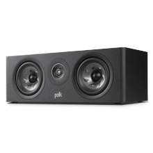 COMPACT CENTER CHANNEL SPEAKER in Black
