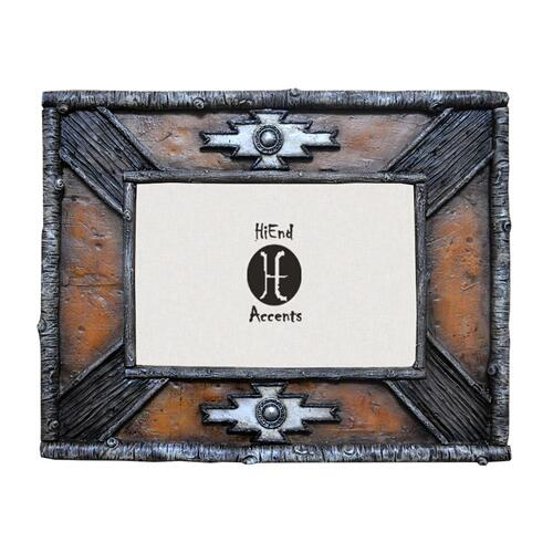 "Hiend Accents - Birch Twig Navajo Picture Frame (4x6/8x10) - 8"" X 10"""