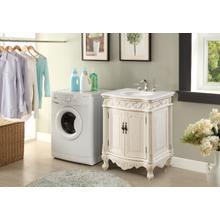 See Details - 27 In. Single Bathroom Vanity Set In Antique White