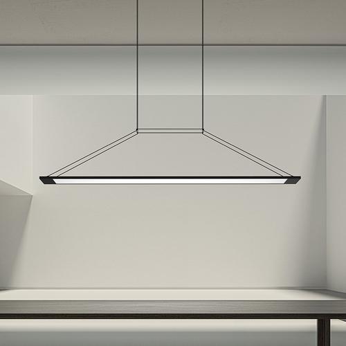 Sonneman - A Way of Light - Perfile LED Pendant [Color/Finish=Satin White]