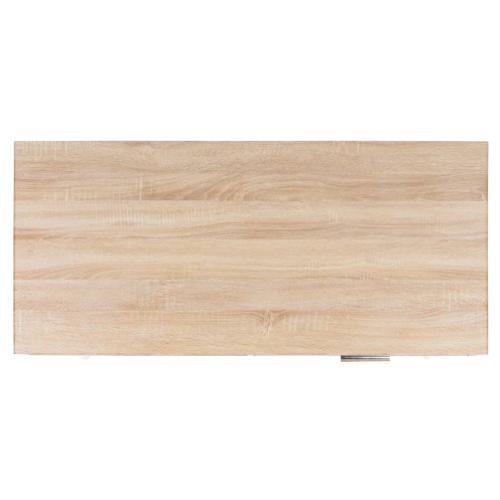 Jorja 1 Drawer 1 Shelf Desk - Natural / Gold