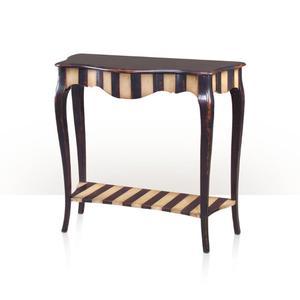 Theodore Alexander - French Stripes, Noir & ivory