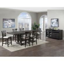 See Details - Napa 5-Piece Counter Dining Set (Counter Table & 4 Counter Chairs)
