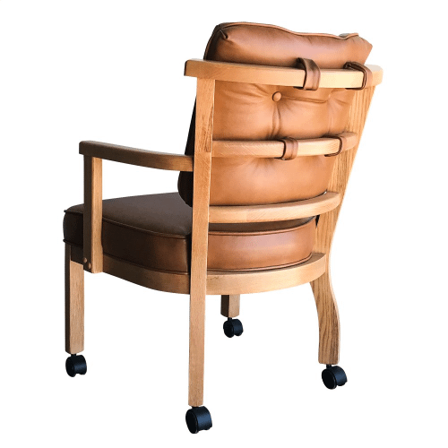 Gallery - Caster Arm Chair