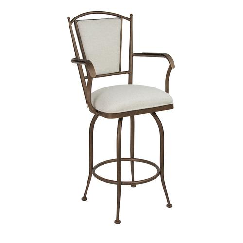 Durham with Arms Bar Stool