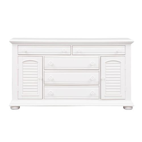 Liberty Furniture Industries - 2 Door 5 Drawer Dresser