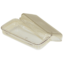See Details - Plastic Butter Tray & Lid