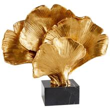 Gilded Bloom Sculpture