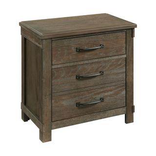 See Details - Scott 2-Drawer Nightstand with USB Ports
