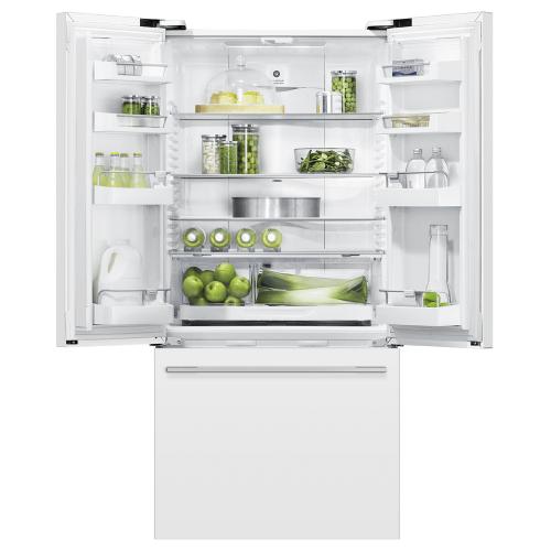 """Fisher & Paykel - Freestanding French Door Refrigerator Freezer, 32"""", 17 cu ft"""