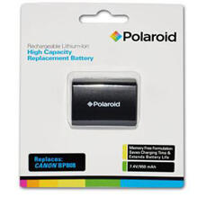 See Details - Polaroid High Capacity Canon BP-808 Rechargeable Lithium Replacement Battery