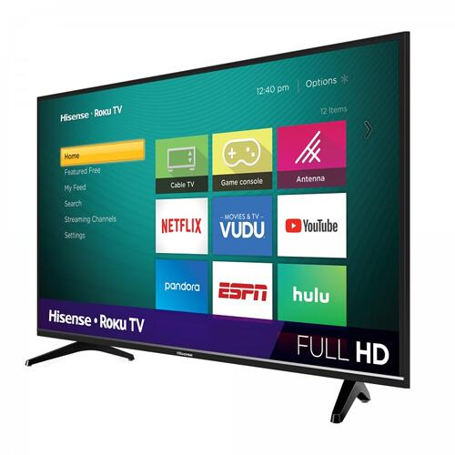 "40"" Class - H4030 Series - Full HD Hisense Roku TV (2019) SUPPORT"