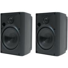"""5.25"""" Indoor/Outdoor Speakers (Black)"""
