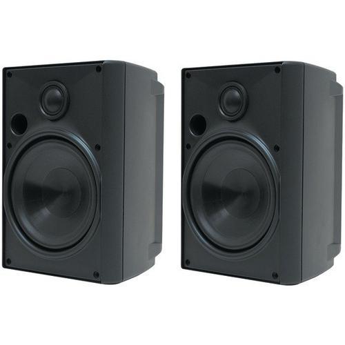 """Gallery - 5.25"""" Indoor/Outdoor Speakers (Black)"""