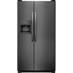 CrosleyCrosley Side By Side Refrigerator - Black Stainless
