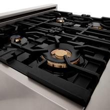 See Details - ZLINE 6 Brass Burners (BRASSBR-48)