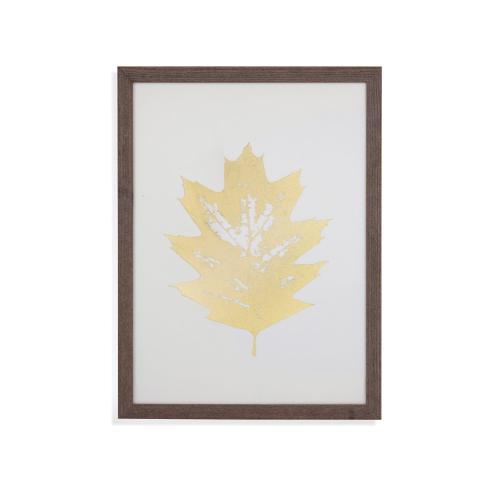 Gold Foil Leaf I