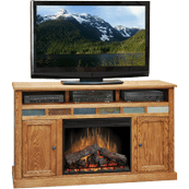 Oak Creek 62inch Fireplace