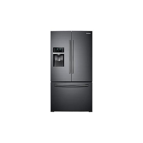 28 cu. ft. Food Showcase 3-Door French Door Refrigerator in Black Stainless Steel