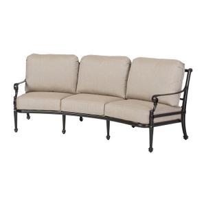 Gensun Casual Living - Grand Terrace Cushion Curved Sofa