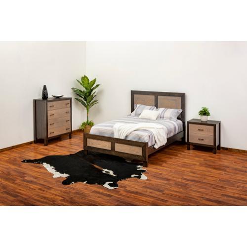Green Gables Furniture - Aquarius Bed - Queen Bed