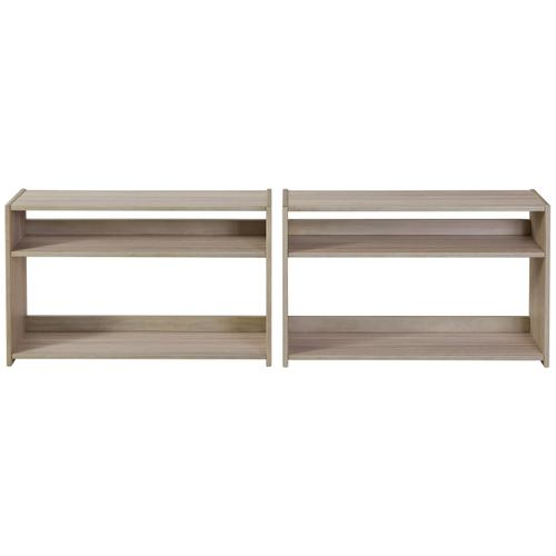 Wrenalyn Under Bed Bookcase (set of 2)
