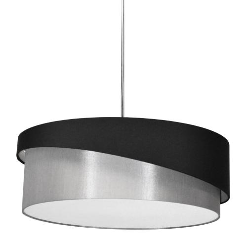 3lt Jazlynn Pendant, Black/grey Shade W/ 790 Diff