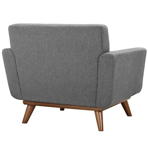 Engage Armchair Wood Set of 2 in Expectation Gray