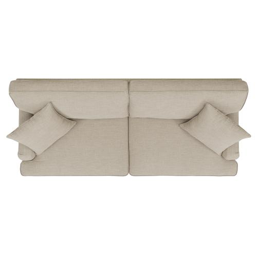 Abby Sofa W/Pillows in Heirloom Natural / Linen