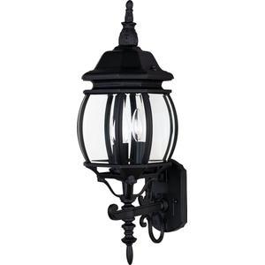 Crown Hill 3-Light Outdoor Wall Lantern