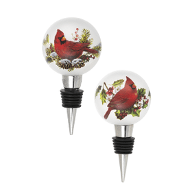 Light Up Cardinal Toppers (6 pc. ppk.)