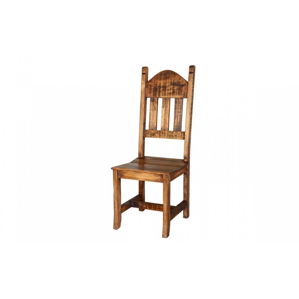 Laredo Distressed Wood Chair