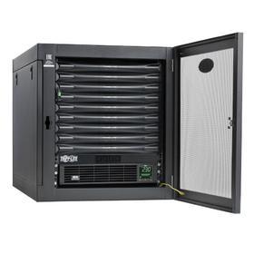 EdgeReady Micro Data Center - 9U, Heavy-Duty, Wall-Mount, 1.5 kVA UPS, Network Management and PDU, 230V Kit
