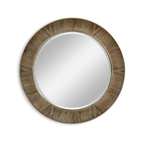 """Hamilton 38"""" Round Mirror"""