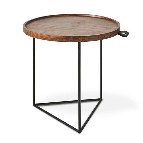 Porter End Table Walnut / Black