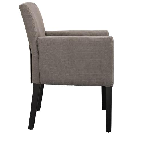 Modway - Chloe Armchair Set of 4 in Gray